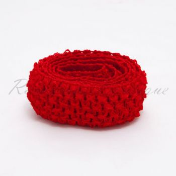 Red Headband By The Metre 1.5 Inches